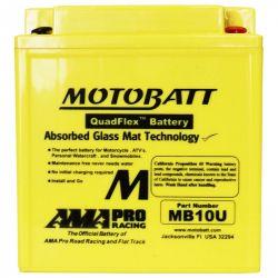 Bateira MotoBatt MB10U - AGM Quadflex