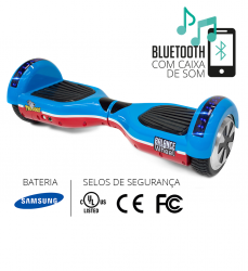 Hoverboard c/Bluetooth+luz led- TWO DOGS