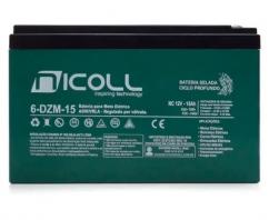 Bateria Scooter Elétrica 12v 15ah Nicoll